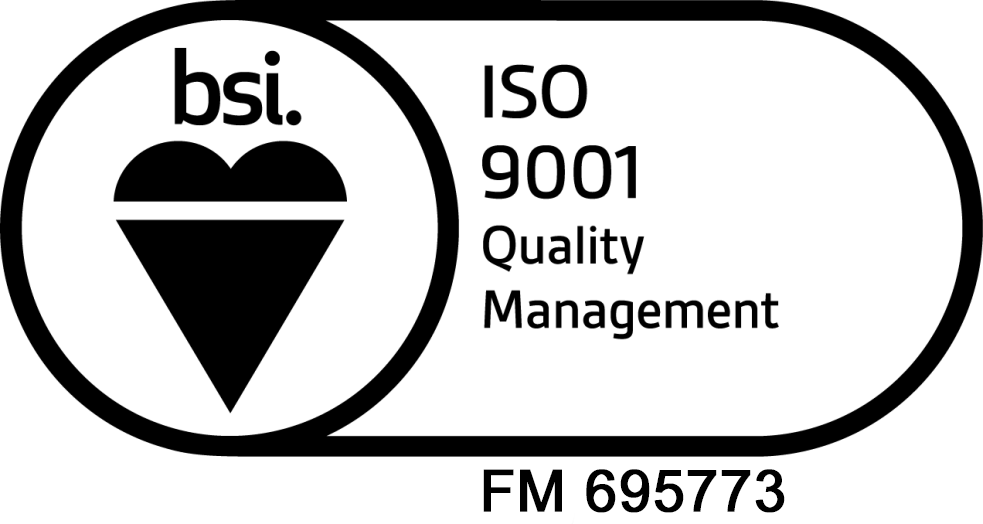 ISO 9001:2015 certification stamp